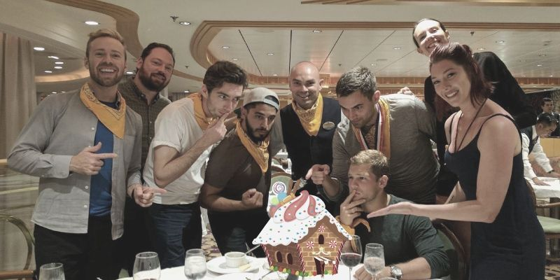 Gingerbread Wars is a fun team outing and company holiday party.